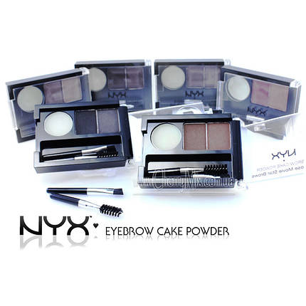 Пудра для бровей NYX Eyebrow Cake Powder, фото 2