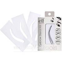 Трафареты для придания формы бровям E.l.f. Essentials Eyebrow Stencil