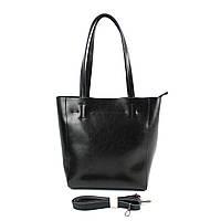 Кожаная сумка Borsacomoda 848041 черная