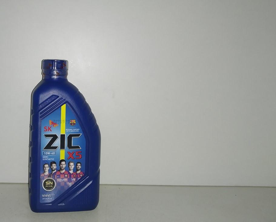 Масло моторное ZIC 10w40 X5 1л