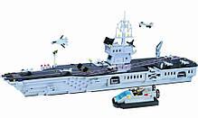 """Конструктор  Brick-113 """"Авианосец"""" 990 деталей, фото 3"""