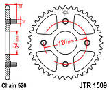 Звезда задняя стальная  JT JTR1509.41 JT Sprockets, фото 2