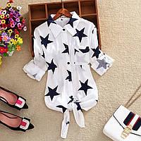 Рубашка женская, тонкий коттон (стандарт) оптом купить от склада 7 км Одесса