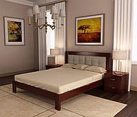 Двуспальная кровать Неаполь из дерева Ольхи