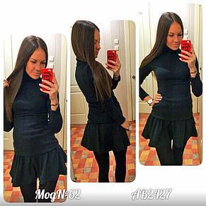 Платье юбка разлетайка ангора , фото 2