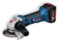 Аккумуляторная угловая шлифовальная машина Bosch GWS 18 V-LI Professional (060193A30A)