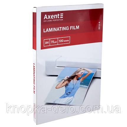 Пленка для ламинирования 75 мкм, A4 (216x303 мм), 100шт., фото 2