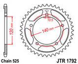 Звезда задняя стальная  JT JTR1792.43 JT Sprockets, фото 2