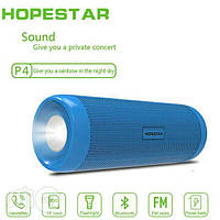 Портативная Bluetooth колонка HOPESTAR P4 с фонариком (MP3, FM, Handsfree, TF)