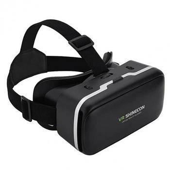 3D очки виртуальной реальности для телефона Shinecon SC-G04, черные