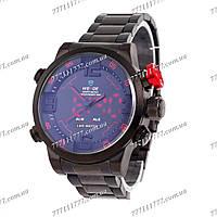 Часы мужские наручные Weide Sport Black/Red