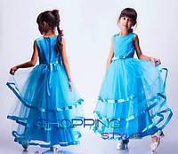 Нарядное платье для девочки 3-7 лет