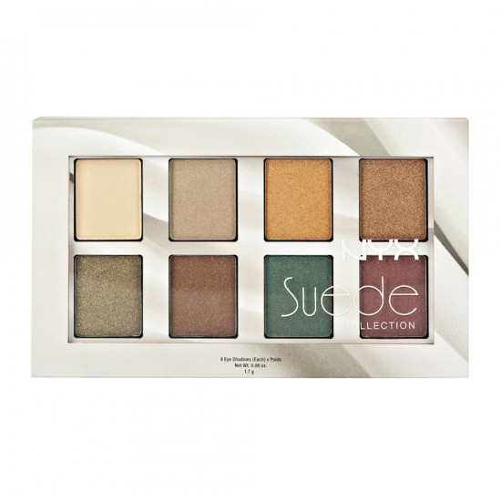Палитра теней NYX The Suede Shadow Palatte S134