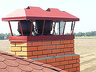 ГИБРИДНЫЙ вентилятор 0-400 м3/ч для кирпичного дымохода