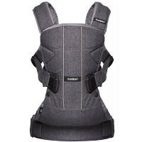 Рюкзак-переноска Baby Bjorn Baby Carrier One Cotton Mix Denim grey (98094)