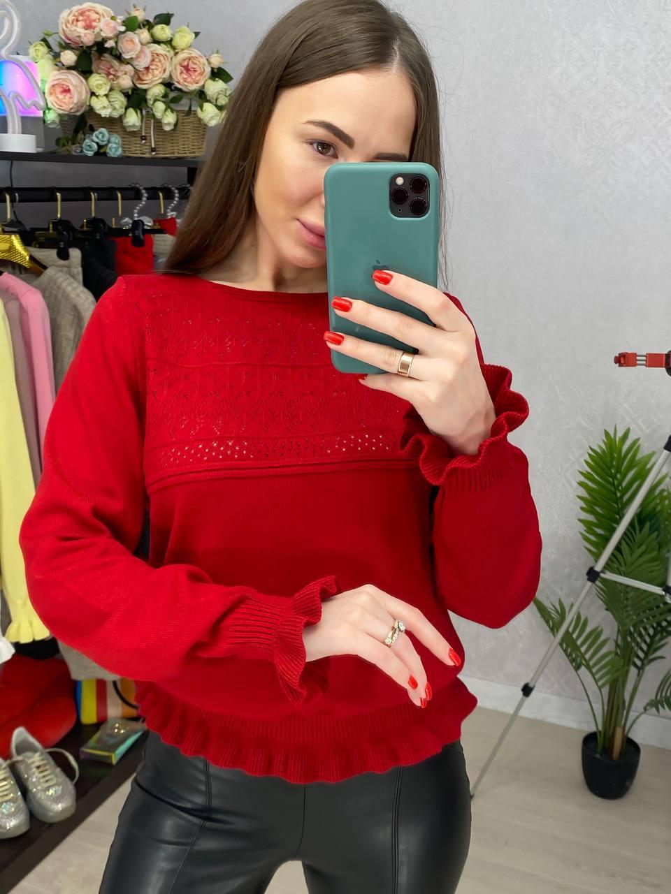 Стильный нарядный свитерок Турция