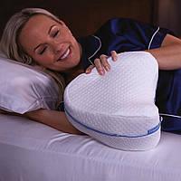 Ортопедическая подушка для ног и коленей анатомическая с эффектом памяти LEG PILLOW Лег пиллоу