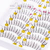 Комплект из 10 пар накладных ресниц №110