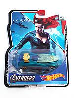 Машинка Hot Wheels Avengers Aquaman Хот Вилс Мстители Аквамен