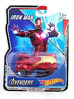 Машинка Hot Wheels Avengers Iron Man Хот Вилс Мстители Железный человек