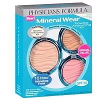 Минеральный набор Physicians Formula Mineral Wear Flawless Airbrushing Kit SPF30