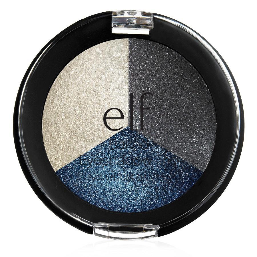 Запеченные тени elf Studio Baked Eyeshadow Trio - Smoky Sea