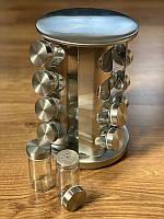 Набор для специй Spice Carousel, Спецовница, Емкости для специй 16 предметов