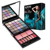 Косметический набор NYX Be Free Palette S125