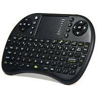 UKB-500-RF 2.4 ГГц мини Клавиатура беспроводная для Smart TV и мобильных со светодиодным индикатором, тачпадом