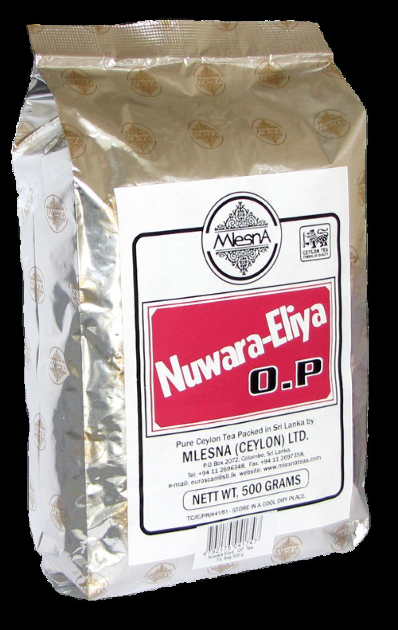Черный чай Нувара Элия, NUWARA ELIYA, Млесна (Mlesna) 500г.