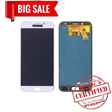 LCD Samsung J530 Galaxy J5 (2017) with touch screen silver (blue) (TFT Premium), фото 2