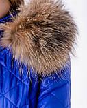 Лижний зимовий комбінезон жіночий синій, фото 3