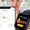 Розумні смарт годинник Smart watch F8, спортивний фітнес браслет, трекер для занять спортом, фото 4