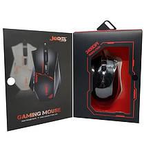 Ігрова комп'ютерна миша USB, RGB підсвіткою Jedel GM300 чорна, геймерська, дротова для комп'ютера, фото 3
