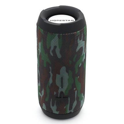 Портативная беспроводная Bluetooth колонка Hopestar P20 Original Camouflage Камуфляж Хаки Speaker (оригинал), фото 2