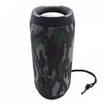 Портативная беспроводная Bluetooth колонка Hopestar P20 Original Camouflage Камуфляж Хаки Speaker (оригинал), фото 3