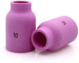 Сопло керамічне d 15.7 mm 53N88 до ТІГ Пальників TIG 9 TIG 17 TIG 18 TIG 20 TIG 26 пакування 10 шт.