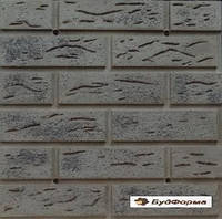 Полифасады из форм АБС,ПВХ,теплые плитки