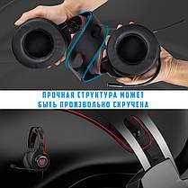 Игровые наушники ONIKUMA M190 Pro Black черные с микрофоном и RGB подсветкой геймерские ігрові навушники, фото 3