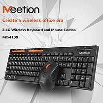 Ігрова бездротова клавіатура JEDEL WS880 + мишка 2 в 1, фото 3