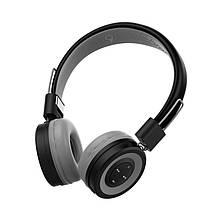 Беспроводные Bluetooth наушники гарнитура с микрофоном CELEBRAT A4 black черные, фото 2