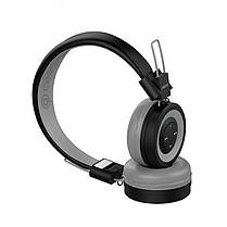 Беспроводные Bluetooth наушники гарнитура с микрофоном CELEBRAT A4 black черные, фото 3