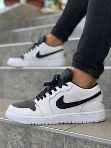 Кроссовки мужские Nike Air Jordan черно-белые