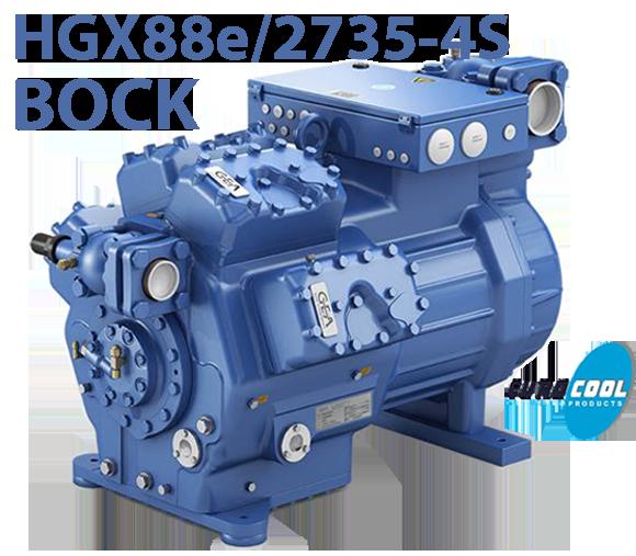 Холодильний напівгерметичний Bock HGX88е/2735-4S