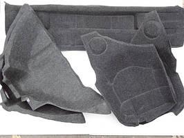Обивка багажника ВАЗ 21099 ворс с арками (к-кт 5 шт) ДЭЛ