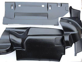 Оббивка багажника ВАЗ 2106 пластик (посилений) (к-кт 4 шт)