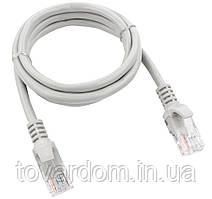 Удлинитель интернет патчкорд 3м.литой