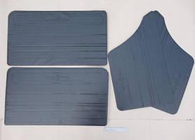 Оббивка дверей ВАЗ 2101 шкіра без молдинга (к-кт 4 шт) ДЕЛ на картонній основі