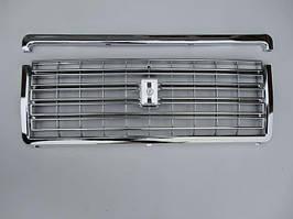 Решітка радіатора ВАЗ 2107 хром з молдингом ДААЗ