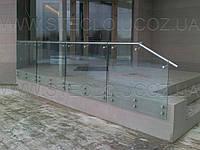 Стеклянные перила (перила из стекла) для лестниц, балконов, террас